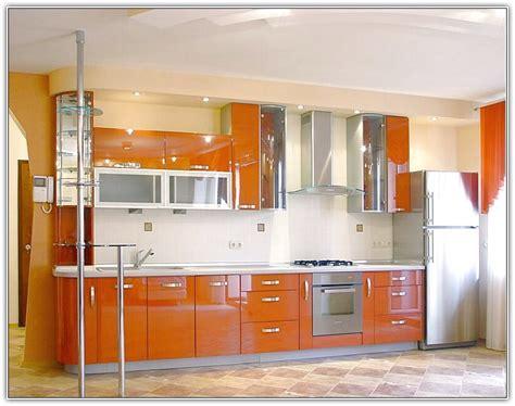 orange kitchen cabinets orange kitchen cabinets home design ideas
