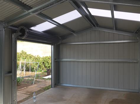 single car garage single car garage park area shedmaster sheds