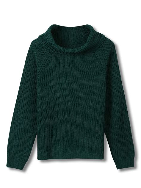 green cable knit sweater green cowl neck cable knit sweater choies