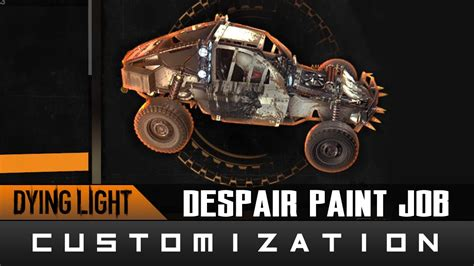 glow in the paint dying light dying light the following despair paint location