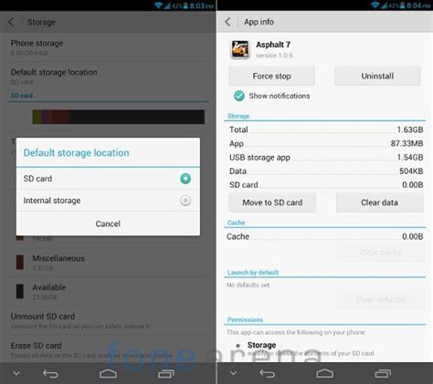 how to make sd card default storage huawei ascend mate review