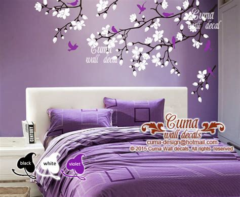 cherry blossom wall decal for nursery cherry blossom wall decals violet nursery cuma wall decals