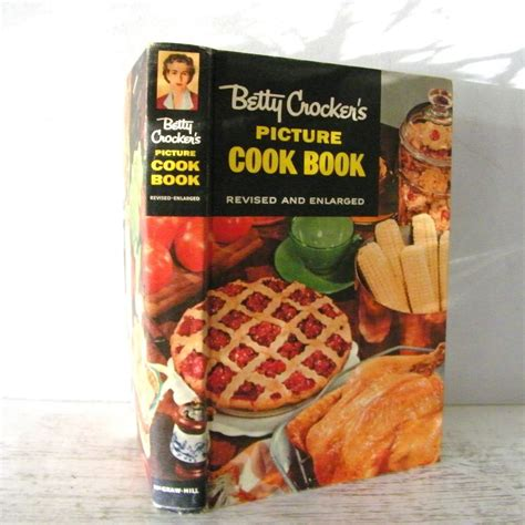 picture cook book betty crocker s picture cook book 1956 free ship from
