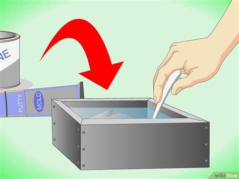 make a rubber st eine gummiform herstellen wikihow