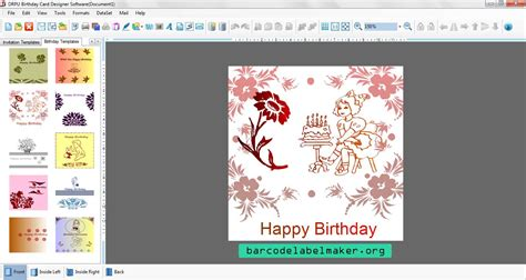 invitation card software 40th birthday ideas birthday invitation card maker