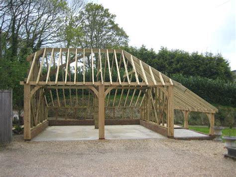 plans for building a garage building an oak framed garage building your own oak