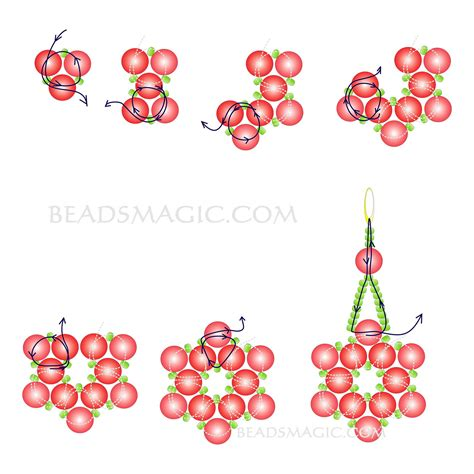 free seed bead earring patterns free pattern for earrings pearl of the magic