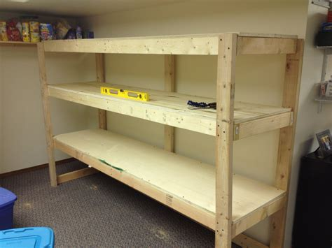 storage shelves for garage how to build wood garage storage shelves image mag