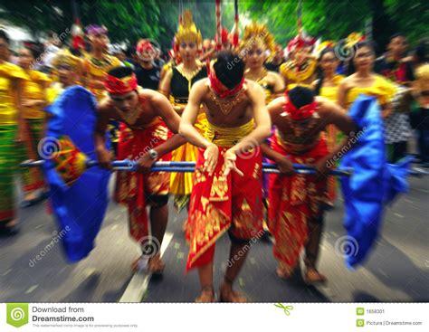festival painting indonesia festival radial blur stock image image