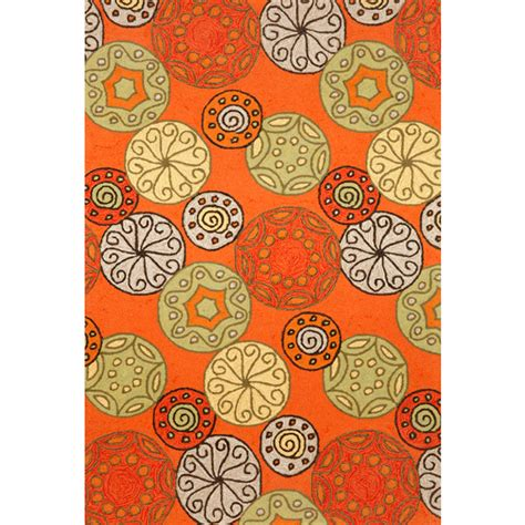 orange outdoor rugs orange indoor outdoor rug