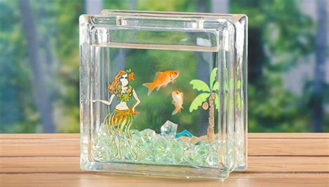 glass blocks craft projects painted glass blocks craft ideas