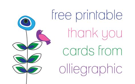 make thank you cards with photos free free to create printable thank you cards template anouk