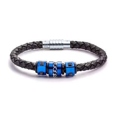 bracelet jewelry aagaard mens jewelry leather bracelet no 1219 landing