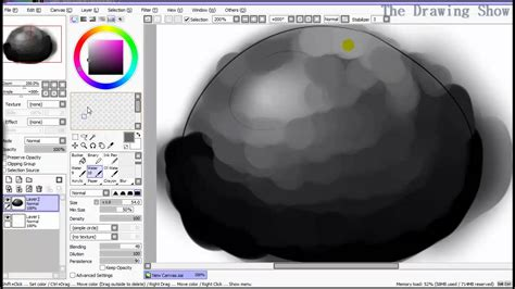 paint tool sai shading how to shade with watercolor on paint tool sai