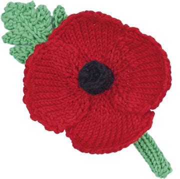 how to knit a poppy flower how to make a knitted or crochet poppy wreath knitted