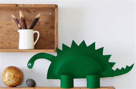 how to make crafts for how to make a paper dinosaur goodtoknow