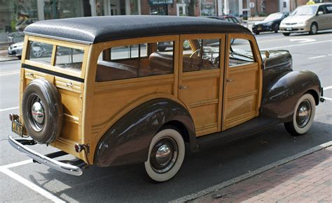 Ford Woody by File 1940 Ford Woody Wagon Rear Jpg Wikimedia Commons