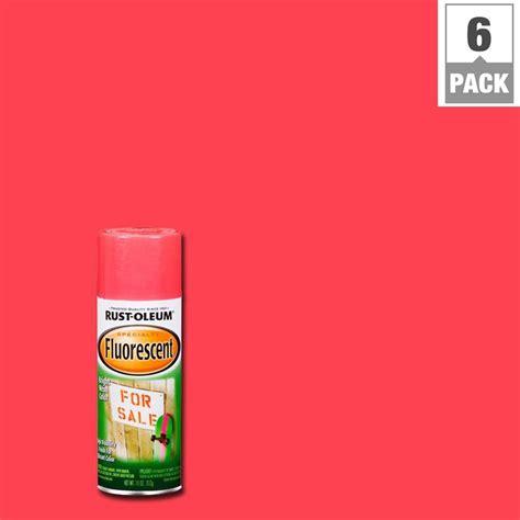 home depot neon paint rust oleum specialty 11 oz pink fluorescent spray paint