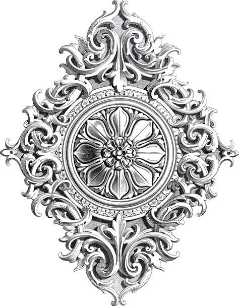 design a ornament amazing antique rosette scrolls ornament the graphics