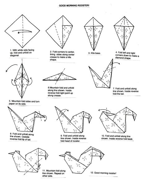 origami pdf 1000 images about origami birds on origami