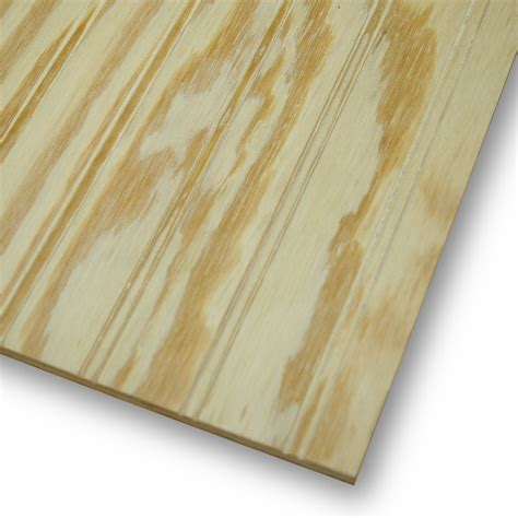 woodworking plywood shop beaded plywood untreated wood siding common 48 in x