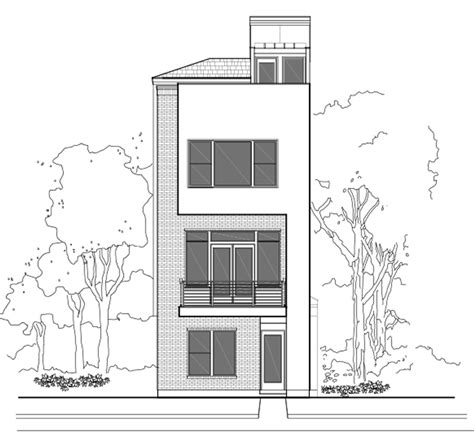 3 story townhouse floor plans 3 story house plans with roof deck modern 2 storey house