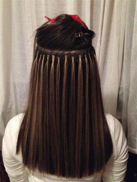 hair extensions using altjanastyle ombre highlights with fusion hair extensions