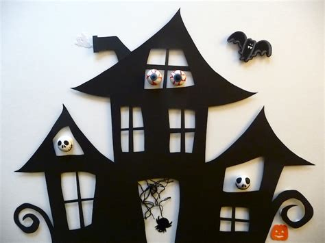 haunted house crafts for haunted house craft artclubblog