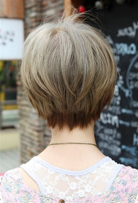 views of back of medium hairstyles back view short haircuts 19 with back view short haircuts