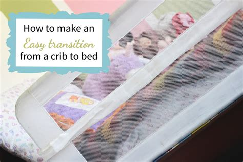 transition crib to bed transitioning from crib to bed easily
