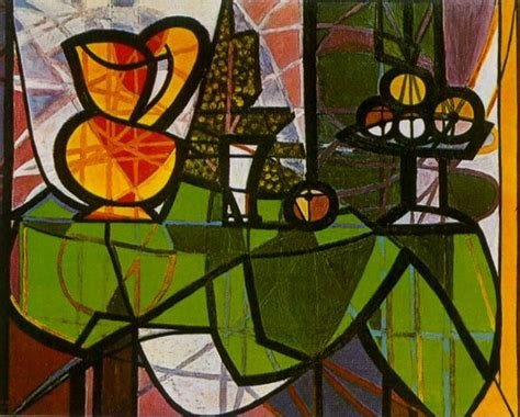 picasso paintings fruit pablo picasso pitcher and fruit cup 1931