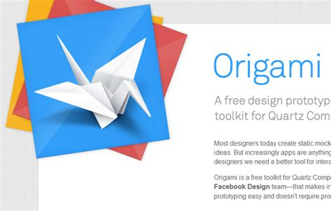 origami means origami a free design prototype toolkit for quartz web