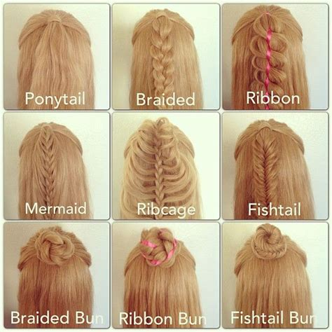 how do you put in your hair 9 different ways to wear your hair half up 167 hair