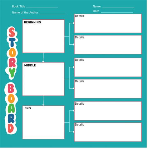create layout storyboard templates with unique designs for and