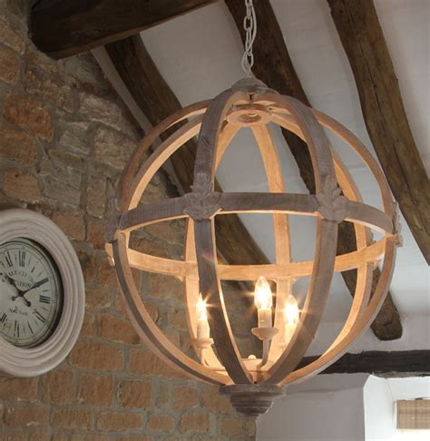 orb chandelier uk large wooden orb chandelier country chandeliers