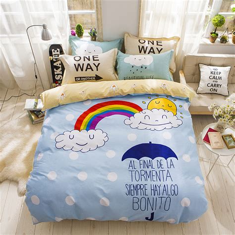 rainbow bedding rainbow bedding for inspire the mood of your room