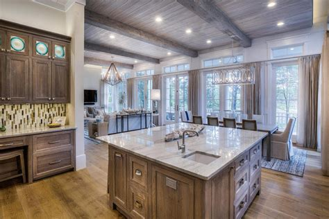 White Kitchen Island With Natural Top 53 high end contemporary kitchen designs with natural