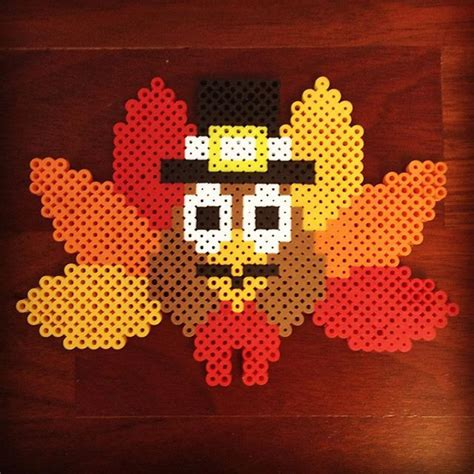 perler bead turkey pattern 890 best images about perler on perler