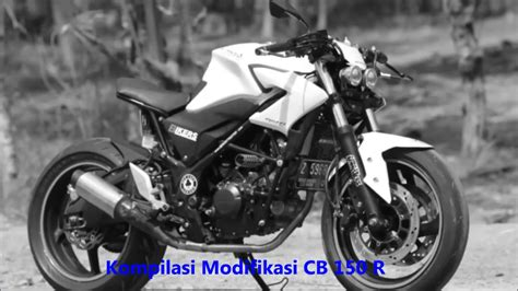 Foto Modification Cb by Modification Honda Cb 150 R Rendering Ini Dia Sosok