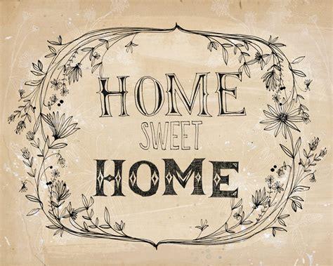 sweet home home sweet home print a sweet william