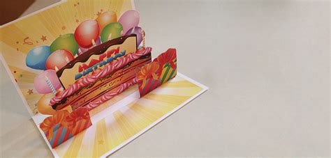 how to make an awesome pop up card how to make an awesome pop up birthday card with stock