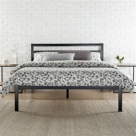 bed mattress frame platform 1500h metal bed frame mattress foundation with