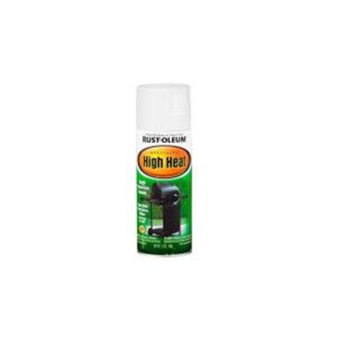 home depot spray paint white rust oleum specialty 12 oz white high heat spray paint 6