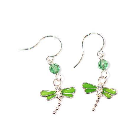 jewelry designs earrings green swarovski dragonfly earrings stewart jewelry designs
