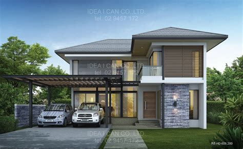 cheap 2 story houses modern 2 storey house plans with garage search
