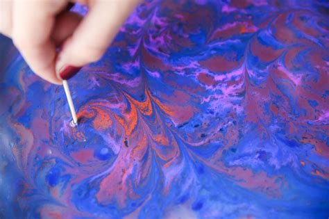 acrylic paint water marbling for the makers acrylic paint marbling