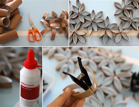 toilet paper roll flowers craft how to make toilet paper roll flowers diy crafts