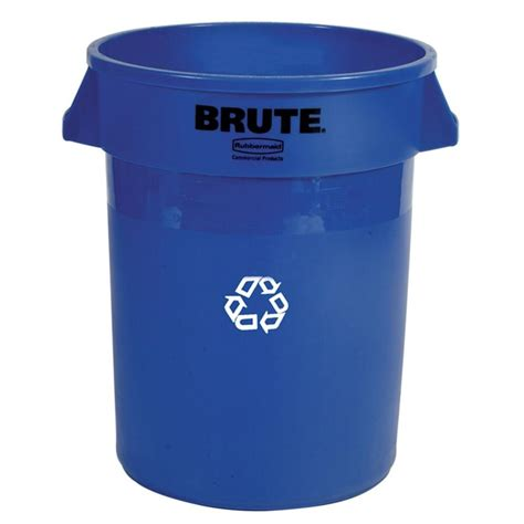 home depot paint waste rubbermaid commercial products 20 gal blue recycling