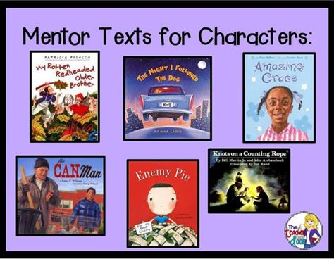 picture books to teach character traits 5 reasons to use mentor texts with big the