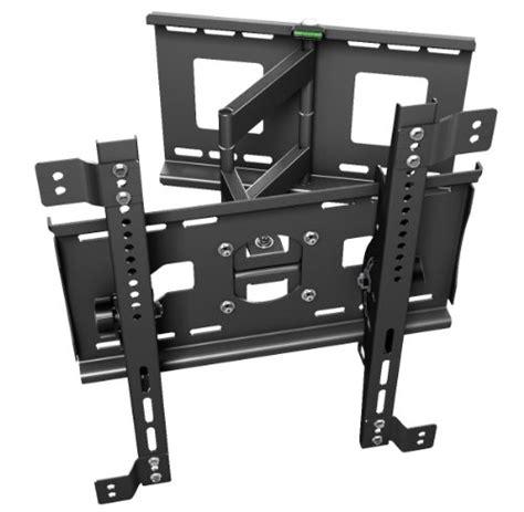 ricoo r33 supporto da parete rotabile e inclinabile per tv al plasma lcd led da 76 165 cm